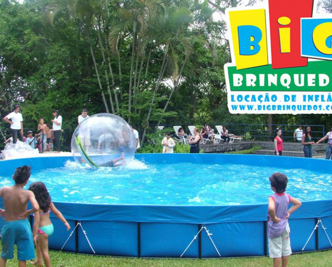 Piscina para Water Ball / Up Ball