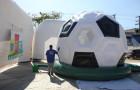 Pula Pula bola de futebol - Foto 2