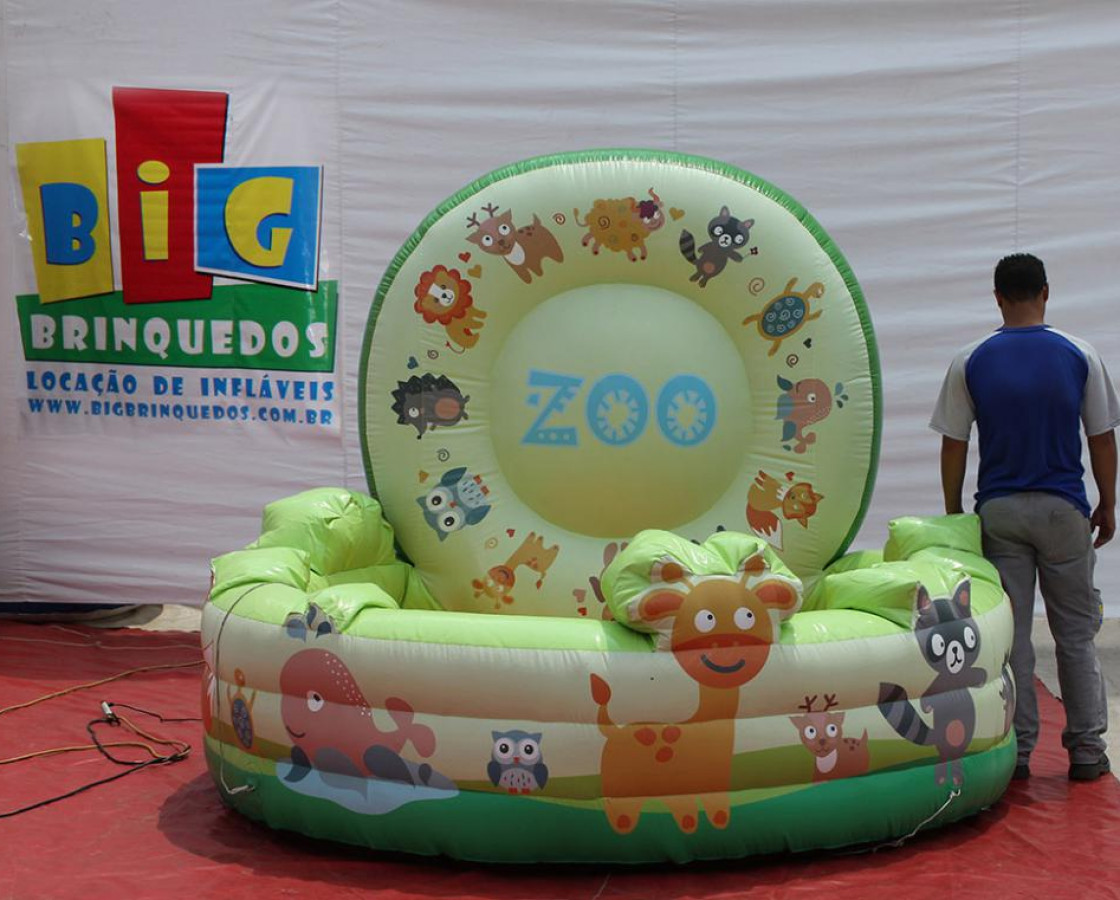 Piscina de Bolinhas Zoo