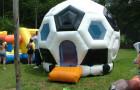 Pula Pula Bola de Futebol - Foto 1